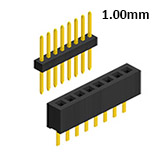 1mm Pitch Pin Header Male Connector