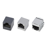 Vertical RJ45 Modular Jack Connectors